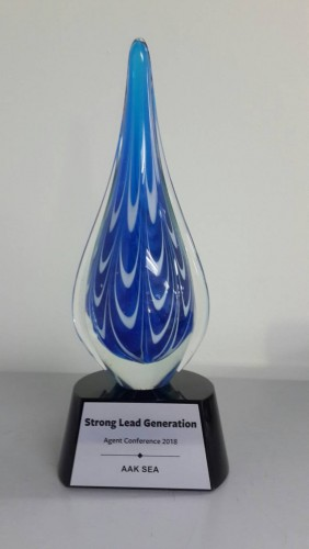 Congratulations to ZI-Life for Strong Lead Generation award from AAK