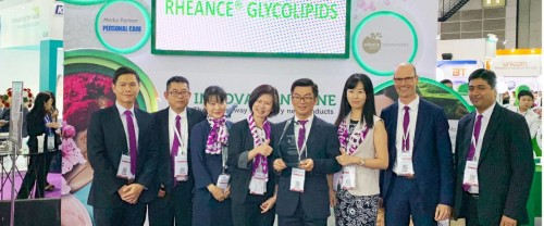 Congratulations to Evonik for the Best Functional Ingredient Gold Award at In-Cosmetic Asia 2018